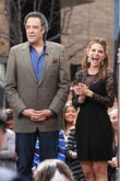 Brad Garrett and Maria Menounos