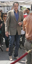 """Celebrities at The Grove for television show """"Extra"""""""