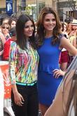 Victoria Justice and Maria Menounos