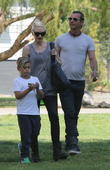 Gwen Stefani, Kingston Rossdale and Gavin Rossdale