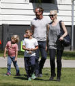 Zuma Rossdale, Gavin Rossdale, Kingston Rossdale and Gwen Stefani