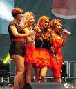 the saturdays performing live on stage 040413