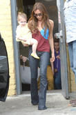 Victoria Beckham and Harper Beckham