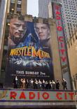 CM Punk, Dwayne 'The Rock' Johnson, John Cena, Radio City Music Hall