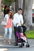 Michelle Heaton, Hugh Hanley, Faith Michelle Hanley and Leilani Dowding