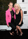 Molly Sims and Tracy Anderson
