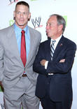 John Cena and Michael Bloomberg