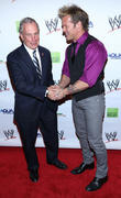 Michael Bloomberg and Chris Jericho