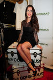 Actress Jessica Lowndes attends H&M's 'Conscious Collection' launch...