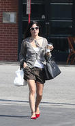 Selma Blair seen out and about