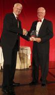 Dr. Richard Corlin and Michael Jordan