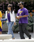 Ice Cube, Kimberly Woodruff and Shea