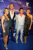 Elsa Pataky, Chris Hemsworth, Luke Hemsworth and Samantha Hemsworth