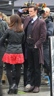 Matt Smith, Jenna-Louise Coleman, Trafalgar Square