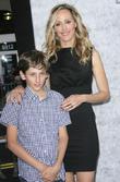 Kim Raver and Son