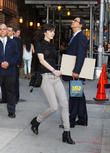 Ali Lohan and Ed Sullivan Theater