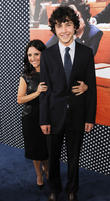 Julia Louis-Dreyfus and son Charlie Hall