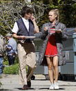 Kevin Mchale and Becca Tobin