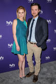 Kristen Hager and Sam Huntington
