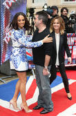 Alesha Dixon, Simon Cowell And Amanda...