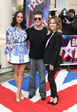 Amanda Holden, Simon Cowell and Alesha Dixon