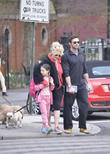 Hugh Jackman, Ava Eliot Jackman, Deborra-Lee Furness, West Village