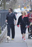 Hugh Jackman, Deborra-Lee Furness, West Village