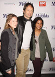 David Duchovny, Madelaine West Duchovny and Guest