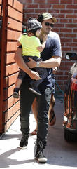 miranda kerr and orlando bloom with son flynn 110413