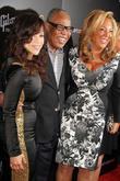 Sam Moore, Rosie Perez and Denise Rich