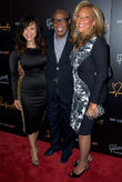 Rosie Perez, Sam Moore and Denise Rich