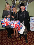 Holly Willoughby, Emma Bunton and Boy George