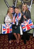 Holly Willoughby, Emma Bunton and Heidi Range