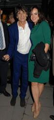 Ronnie Wood and Sally Humphreys