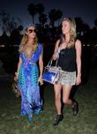 Paris Hilton, Nicky Hilton, Coachella Music Festival, Coachella