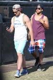 Alex Pettyfer and Connor Cruise