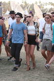 Joe Jonas, Blanda Eggenschwiler and Nick Jonas