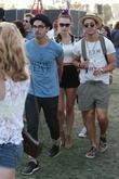 Joe Jonas, Nick Jonas and Blanda Eggenschwiler