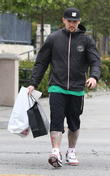 Joel Madden shops in West Hollywood