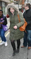 celebrities outside the bbc radio two studios 130413