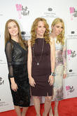 Zoe Deutch, Lea Thompson and Madelyn Deutch