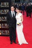 Stephen Mangan and wife Louise Delamere