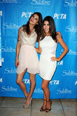 Daniella Monet and Elisabetta Canalis