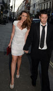 Michelle Heaton and Hugh Hanley