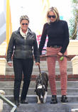Sharon Stone goes for lunch in West Hollywood