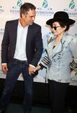 Mark Ruffalo and Yoko Ono