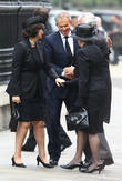 John Major, Norma Major, Tony Blair, Cherie Blair, St Pauls Cathedral