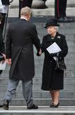 Queen Elizabeth II and Mark Thatcher