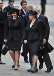 guests leave st paul s cathedral in central london 170413