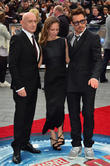Sir Ben Kingsley, Susan Downey and Robert Downey Jr